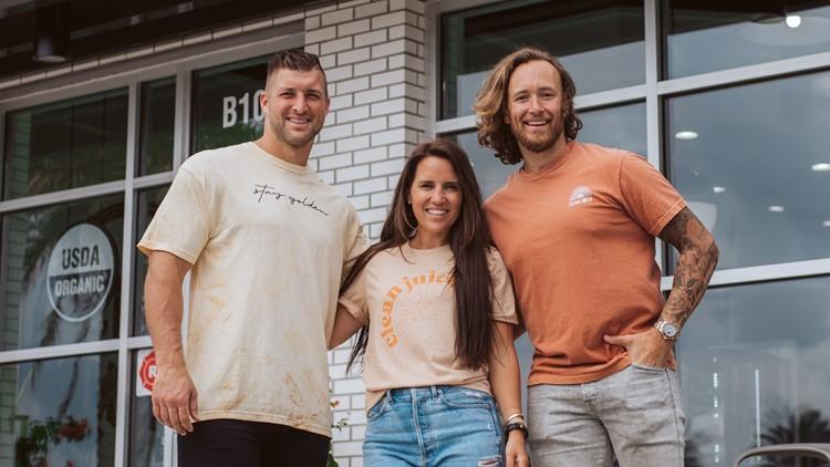 As Charlotte-based juice bar franchise grows, Tim Tebow steps in as spokesperson