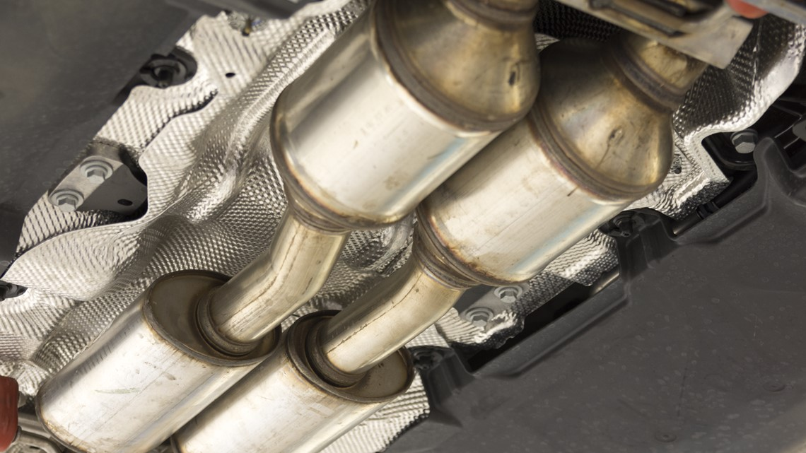 New bill would make stealing a catalytic converter a felony