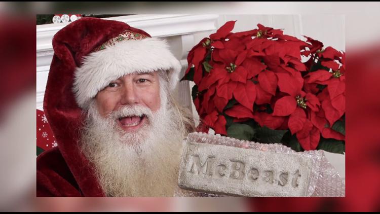 Carolina has Heart: Santa runs in support of cancer research