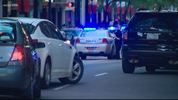 Suspect on the run after attempted armed robbery turned to vehicle pursuit