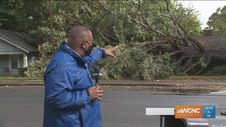 Tropical Storm Zeta leaves thousands without power