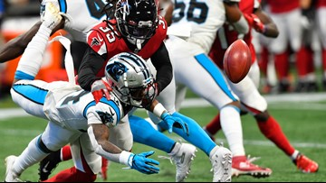 Panthers lose to Atlanta Falcons