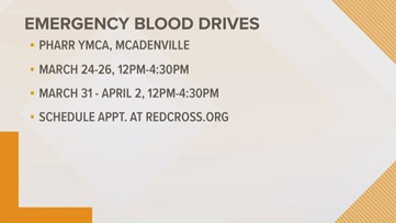 Red Cross holding blood drives in Gaston County