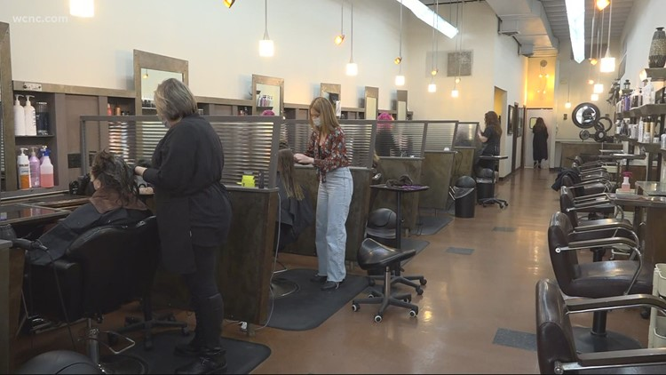 One year since temporarily shutting down salon, Charlotte business owner says she sees 'light at the end of the tunnel'