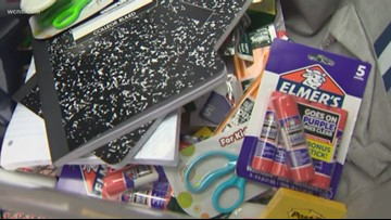 Charlotte Salsarita's take part in back to school supply drive
