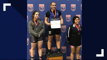 Parkwood wrestler becomes first girl to win state championship