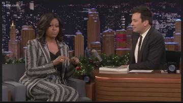 'Bye Felicia': Michelle Obama tells Jimmy Fallon how she really felt when President Trump was inaugurated