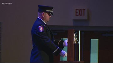Many gather as assistant fire chief laid to rest