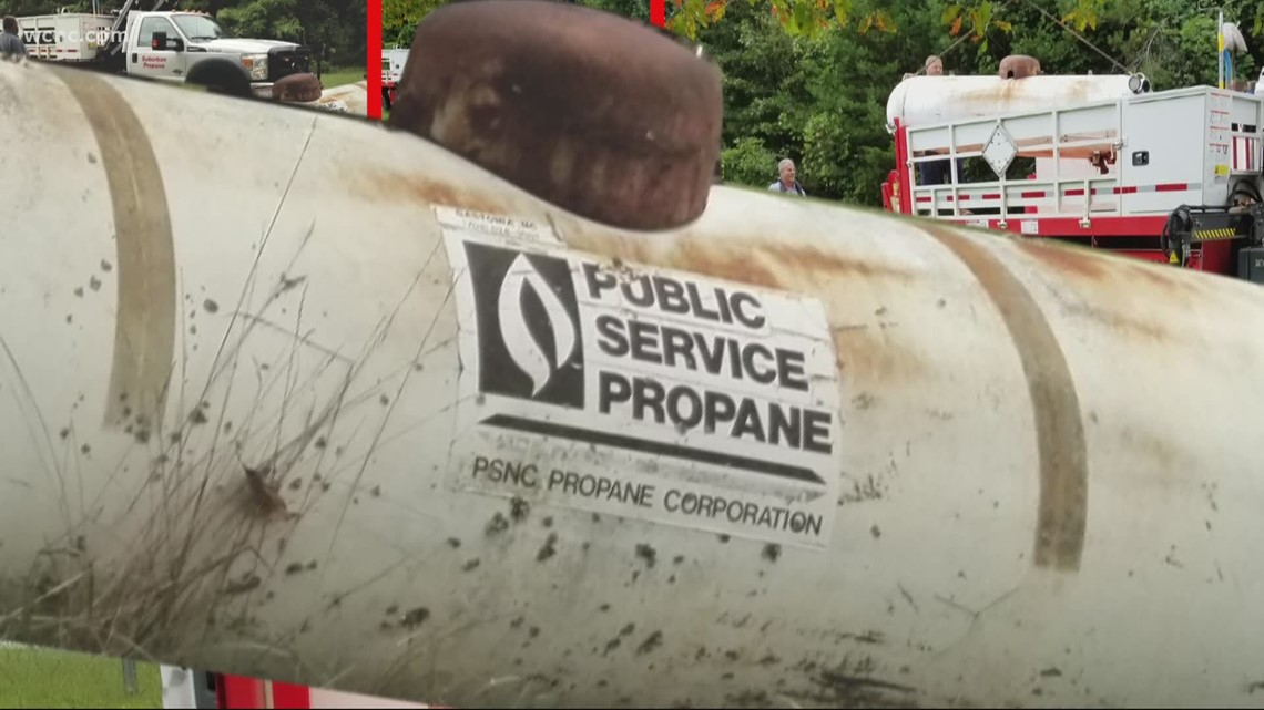Get McGinty: Getting rid of an old propane tank on a Gastonia property