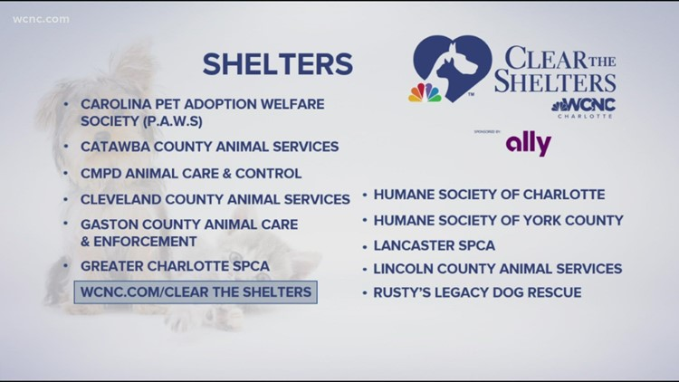 Clear the shelters!