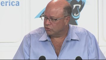 Panthers owner David Tepper interested in moving team's headquarters to South Carolina