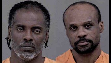 Two men charged in armed robbery of East Blvd store