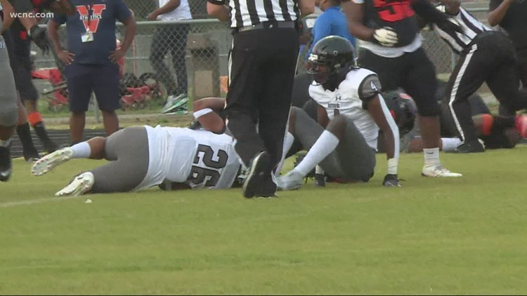Hough wins conference with road win at Vance