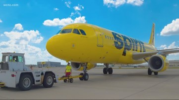 Spirit Airlines launches service in Charlotte