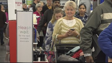 Black Friday Frenzy: Shoppers out in full force