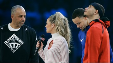 Steph Curry sports same jacket to All-Star he wore as a kid