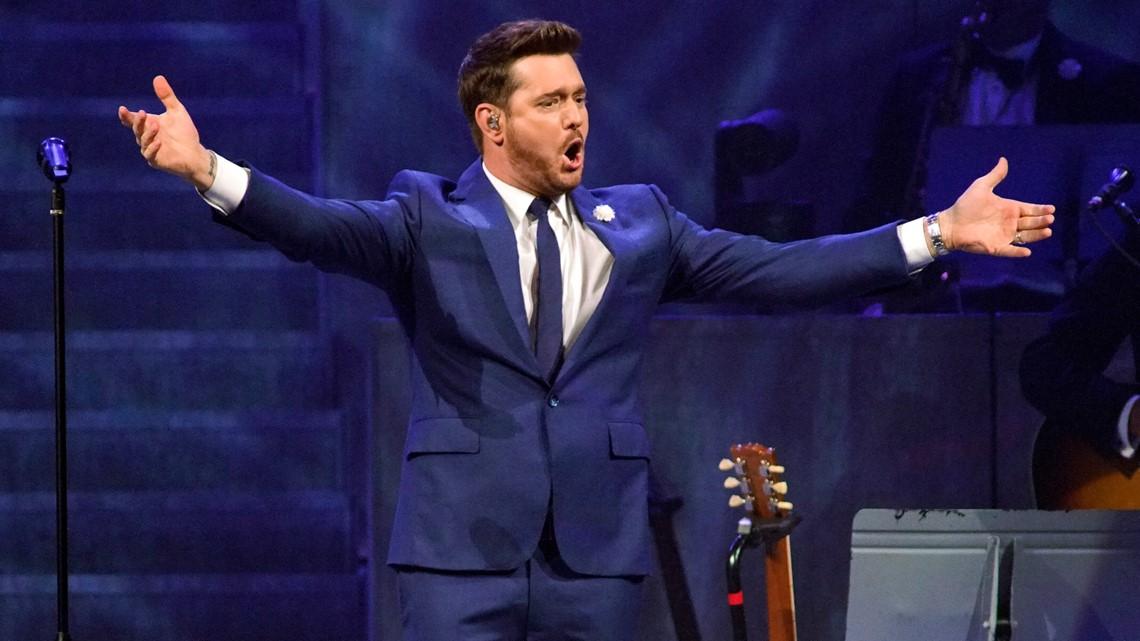 Michael Bublé announces Charlotte concert