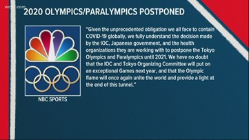 2020 Olympic Games officially postponed