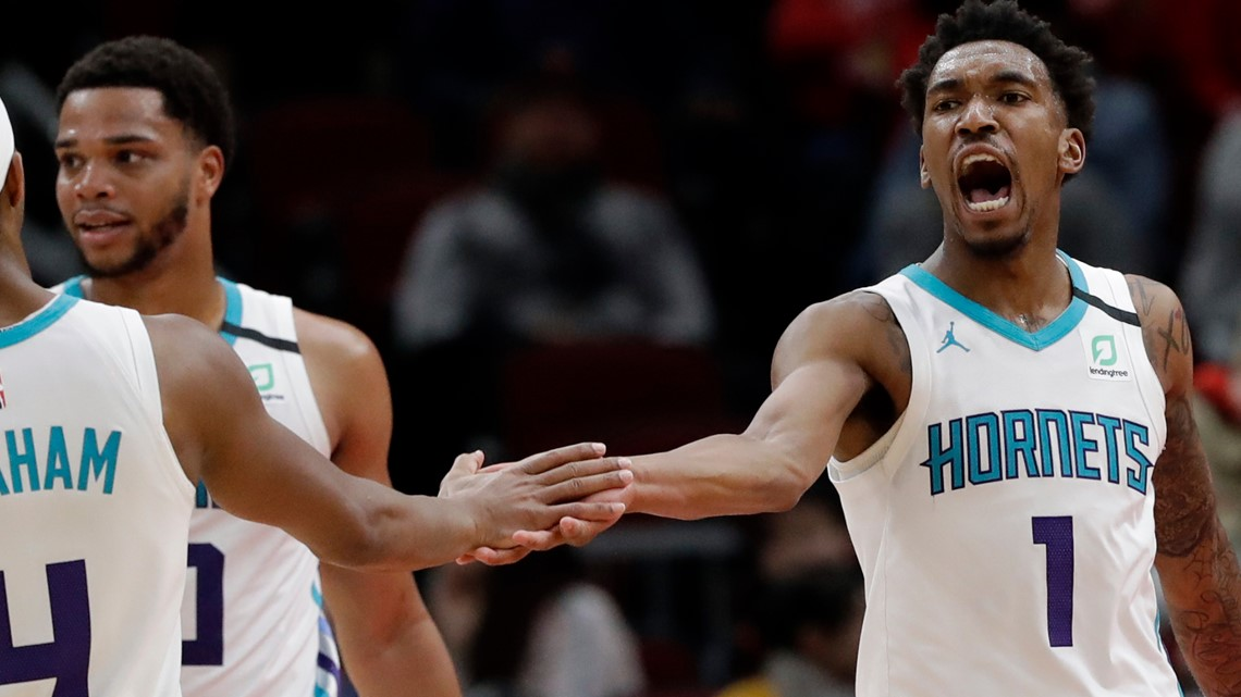 Hornets hold team workouts for first time since March