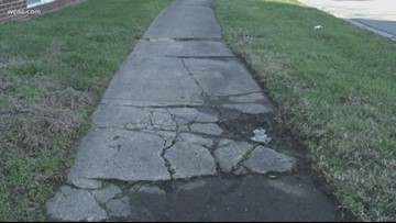 'It's very dangerous'   Petition calls for city to improve sidewalk safety near Plaza Midwood