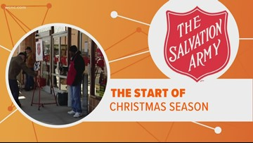 The Salvation Army kicks off red kettle campaign