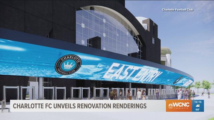 Charlotte FC announces $50M updates to Bank of America Stadium