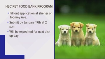 Humane Society of Charlotte offers help with pet food bank program