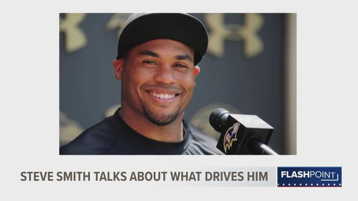 Flashpoint: Steve Smith talks about what drives him