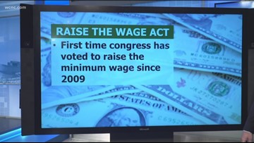 House passes bill that would raise minimum wage to $15 nationally