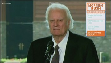 Sculptures honor the life of Rev. Billy Graham