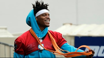 Rivera: Cam Newton throwing after shoulder surgery