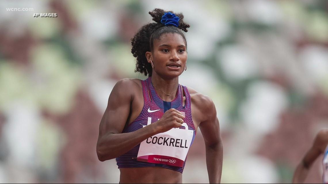 Anna Cockrell's high school coach has faith in the Olympian