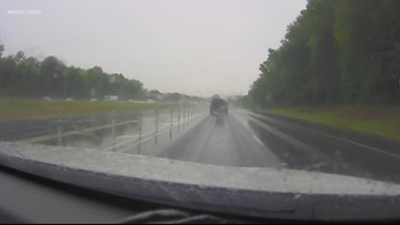 Chevy Storm Tracker: Consistent light rain in the Charlotte area