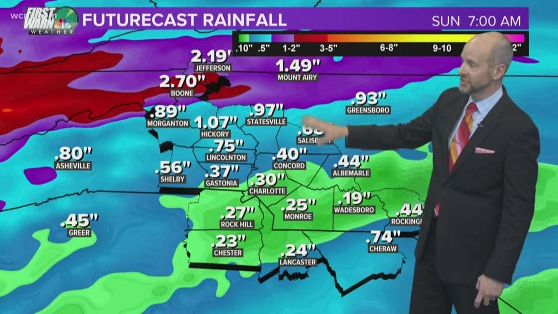 Forecast: Rain likely through Saturday