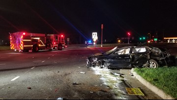 Florida man dies after single-car crash in Concord