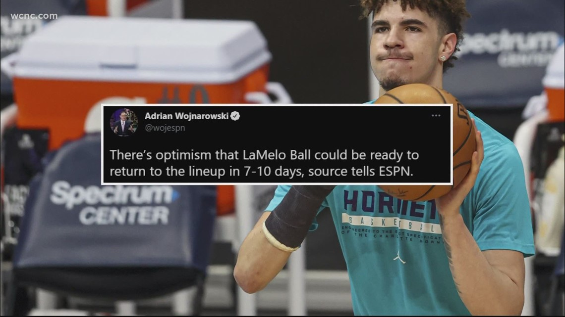 LaMelo Ball cleared to return to individual basketball activities