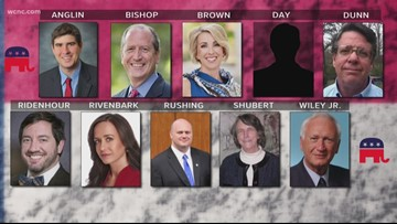 10 Republicans vying for nomination in Tuesday's NC 9th District primary