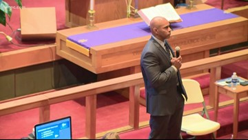 CMPD holds community meeting after body cam video release