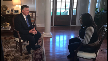 Mark Harris sits down with NBC Charlotte to talk about 9th District drama in NC