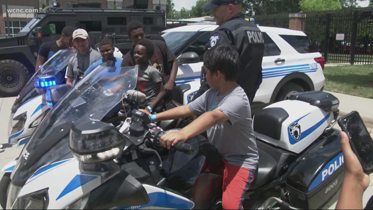 CMPD hosts car show in hopes to build better relationship with the community