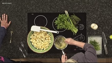 Quick recipe: Garlic herb and potatoes with Chef Jenny