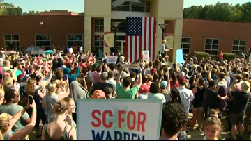 Presidential hopeful Elizabeth Warren visits Rock Hill