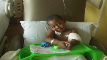 'I think he's a miracle'   9-year-old has fought through heart transplant, cancer, kidney failure