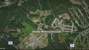 1 dead after motorcycle crash in Rock Hill