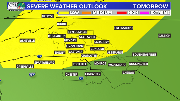 FORECAST: Scattered rain continues, severe and flood threat tomorrow