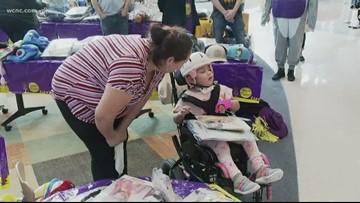 Halloween celebration lightens spirits at Levine Children's Hospital