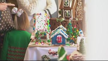 Gingerbread Lane delights guests inside Ballantyne Hotel