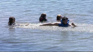 Water officials test for E. coli at Mountain Island Lake