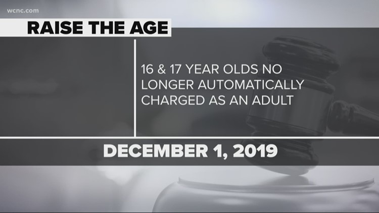 Raise the Age goes into effect December 1 in NC