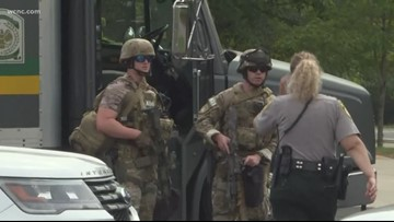 Woman barricaded inside Gaston County home was firing shots, police say